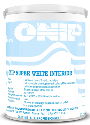 ONIP SUPER WHITE - SƠN SIÊU TRẮNG NỘI THẤT